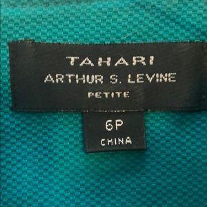 Tahari Dresses - Tahari Dress Teal - petite length!